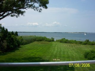 View from deck looking at canal - Pocasset house vacation rental photo