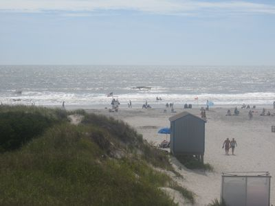 Brigantine's best guarded beach right outside your door!