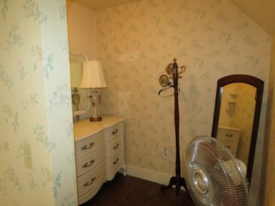 Dressing room in large Upstairs Bedroom.