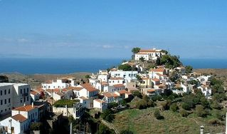 Kea cottage photo - View of the village of Ioulis (Chora), walking distance form our cottage
