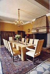 Saint-Martory castle photo - Formal dining room