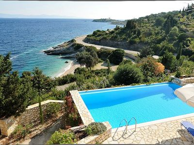 Private swimming pool and amazing seaviews