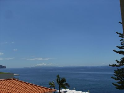 Funchal apartment rental - View from the bedroom balconies