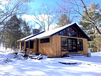 Copake Lake Cottage In The Woods With Private Water Side Dock