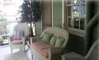 Cape May house photo - Screened in porch