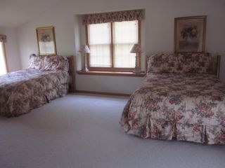 Galena house photo - Upstairs Double King Room has attached bath and tons of room to relax