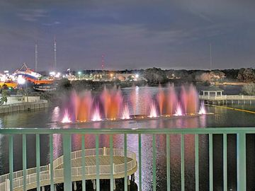 Nightly Music & Water Show