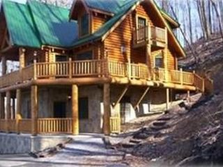 Gatlinburg chalet photo - Cabin on the hill.