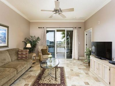 Take a load off in Cinnamon Beach House 933! - Sit back, watch the LCD TV with 250+ channels, enjoy the sunset over the lake, and have a great time chilling out in the Palm Coast, Florida, vacation rental.