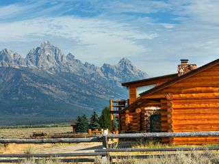 Jackson Hole lodge photo - Your view, Your Vacation, Your serenity....