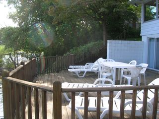 Front deck - Sister Lakes house vacation rental photo