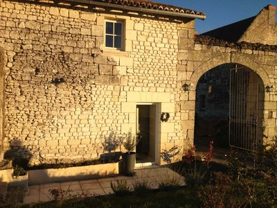 Charming cottage for 4/5 persons with pool, near Chinon, Saumur