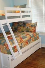 Watercolor house photo - Kids' bunks