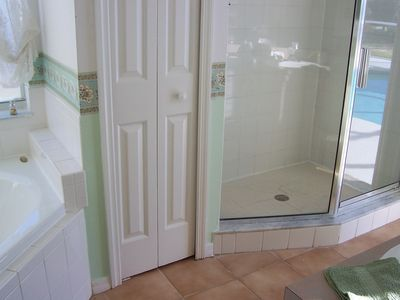Shower cubicle in En-Suite Bathroom