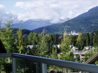 Whistler condo photo - Deck view of the valley