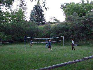 Glenwood Springs cabin photo - Badminton, volleyball & horseshooes on site during the summer!