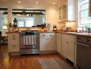 Edgartown house photo - Main Cottage Kitchen