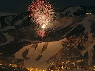 Steamboat Springs condo photo - New Years fireworks