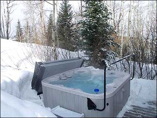 Snowmass Village house photo - Secluded hot tub nestled in the trees