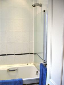 THE SHOWER over your bath.