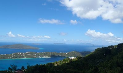 Breathtaking views  - Magen's Bay and the British Virgin Islands