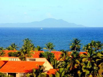 Humacao studio rental - Ocean view from balcony