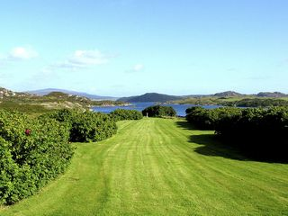 Oban, Isle of Mull & Lorn cottage photo - LAWN DOWN TO THE LOCH