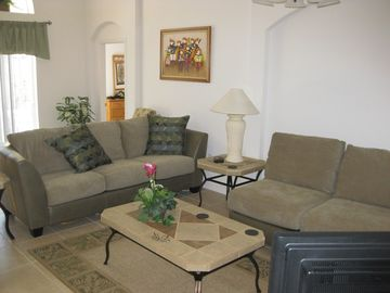 Part of the luxury living area