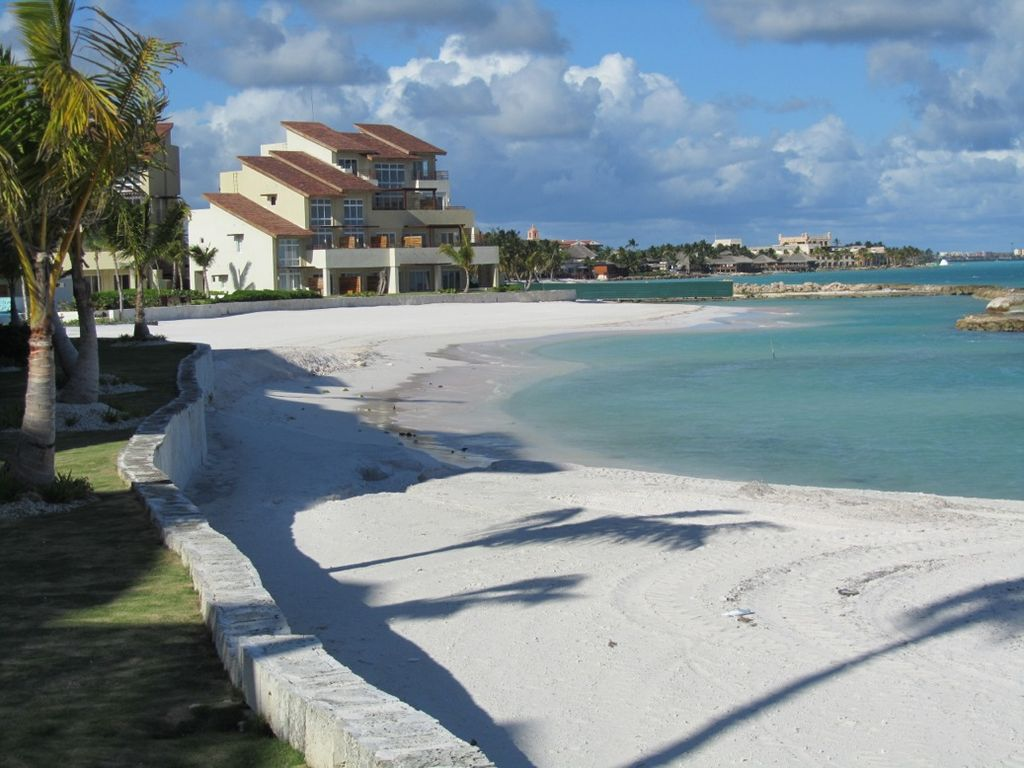 Luxury beachfront 1st line punta cana cap homeaway for Vacation rentals in punta cana