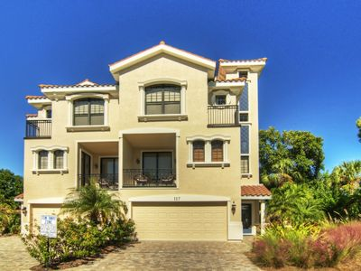Blue Serenity is a luxury 4-story Townhouse Villa with Gulf and Village Views.