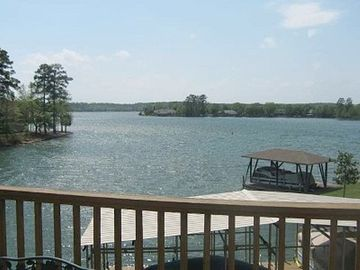 Hot Springs Village house rental - View from top deck