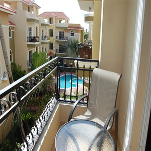 Bavaro apartment rental - Pool View from Terrace