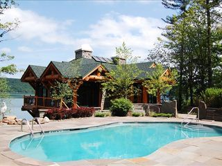 Cooperstown cabin photo - Choose the clear waters of Otsego or the heated pool at The Boathouse