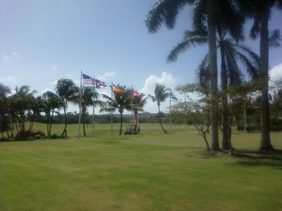 Championship golf courses at the Palmas Athetic Club; two courses to choose from