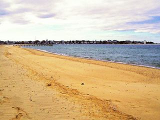 Chappaquiddick house photo - Private Swimming Beach & Harbor Entrance