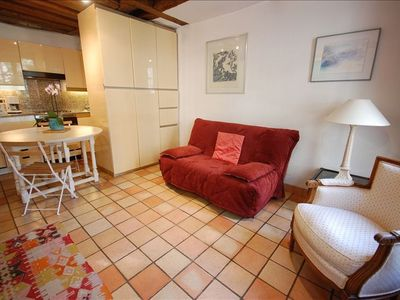 5th Arrondissement Latin Quarter studio rental - main room