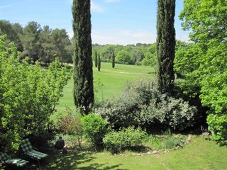 Aix-En-Provence house photo - View from the Garden