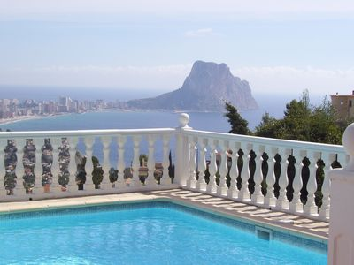 fantastic sea views, pool, close to the beach, 4 Pers.