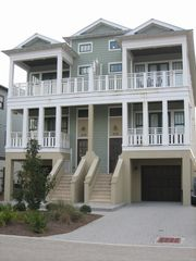 Inlet Beach townhome photo - Front view of home