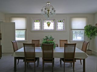 Wildwood Crest estate photo - Dining Room, Beautiful Stained Glass Window Series