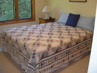 Wiscasset house photo - Intimate bedroom (queen)