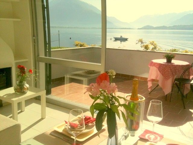 Accommodation near the beach, 40 square meters, , Domaso, Lombardy