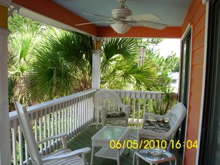Tybee Island house photo - Balcony (8' x 25') south view