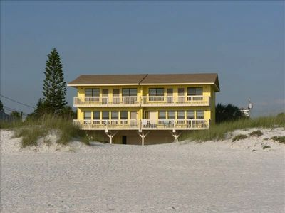 One of the last intimate white sand rental properties on Clearwater Beach.