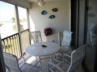 Fort Myers Beach condo rental - Patio