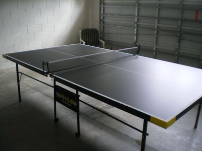 Table tennis table for all to enjoy
