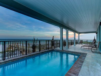 Beach Front Home with Private Pool and Boardwalk! Great Location and Free Perks!