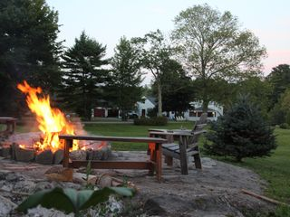 Westport Island house photo - The fire pit
