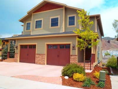 Salida Riverfront Townhome. (Unit on right.)