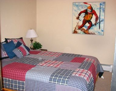 Master Bedroom - comfortable with plenty of room.